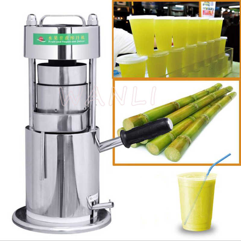 Stainless Steel Manual Sugarcane Juice Machine Sugar Cane Juicer Cane Juice Squeezer Sugarcane Juice Extractor Machine Aliexpress