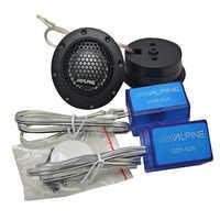 AIYIMA 1set Mini altavoces portátiles de Audio 4Ohm 180W altavoz portátil Tweeter trible Silk Film altavoz coche cuerno DIY para el sistema del coche