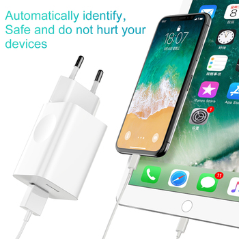 Baseus 24W Quick Charge 3.0 USB Charger QC3.0 Wall Mobile Phone Charger for iPhone X Xiaomi Mi 9 Tablet iPad EU QC Fast Charging 1