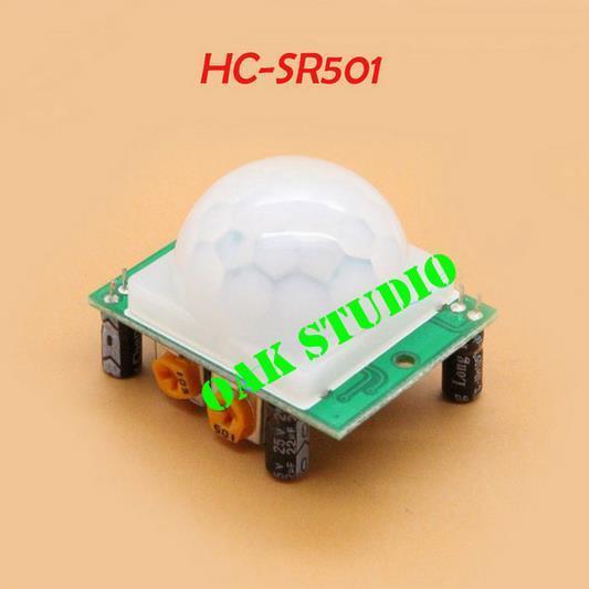 10 шт./лот HC-SR501 отрегулируйте пироэлектрический инфракрасный датчик движения PIR детектор модуль HCSR501