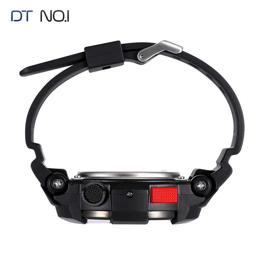 DTNO.1 שעונים חכמים F6 50 m עמיד למים ספורט Smartwatches נורדי NRF51822 שעון חכם השינה Monitor מצלמה מרחוק IOS אנדרואיד
