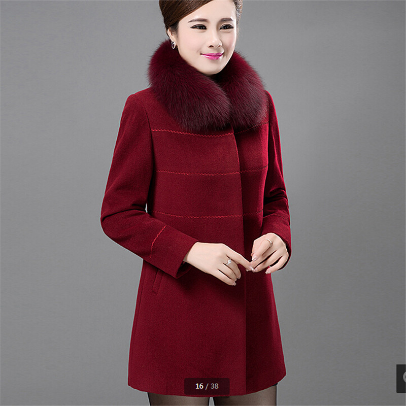 Compare Prices on Cashmere Coat Parka Women Long- Online Shopping ...