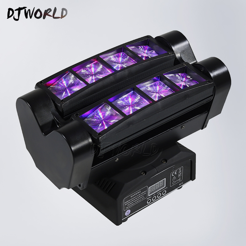 New Moving Head Led Spider Light 8x10W RGBW 4in1 Led Party Light DJ Lighting Beam Moving Head Light lot hot sale free shipping rgbw 4in1 led spider beam light led 8x10w bar beam moving head beam led spider light rgbw