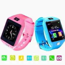 Купить с кэшбэком Children's smart watch supports SIM TF card Compatible Android iOS phone child camera smart baby watch child safety