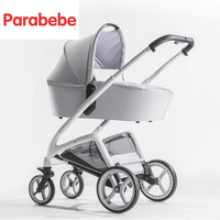 High Landscape Baby Strollers Stroller Baby Kid 2 In 1 Pram New Fashion Push Chair Child Three Wheels Stroller Luxury Baby Carts