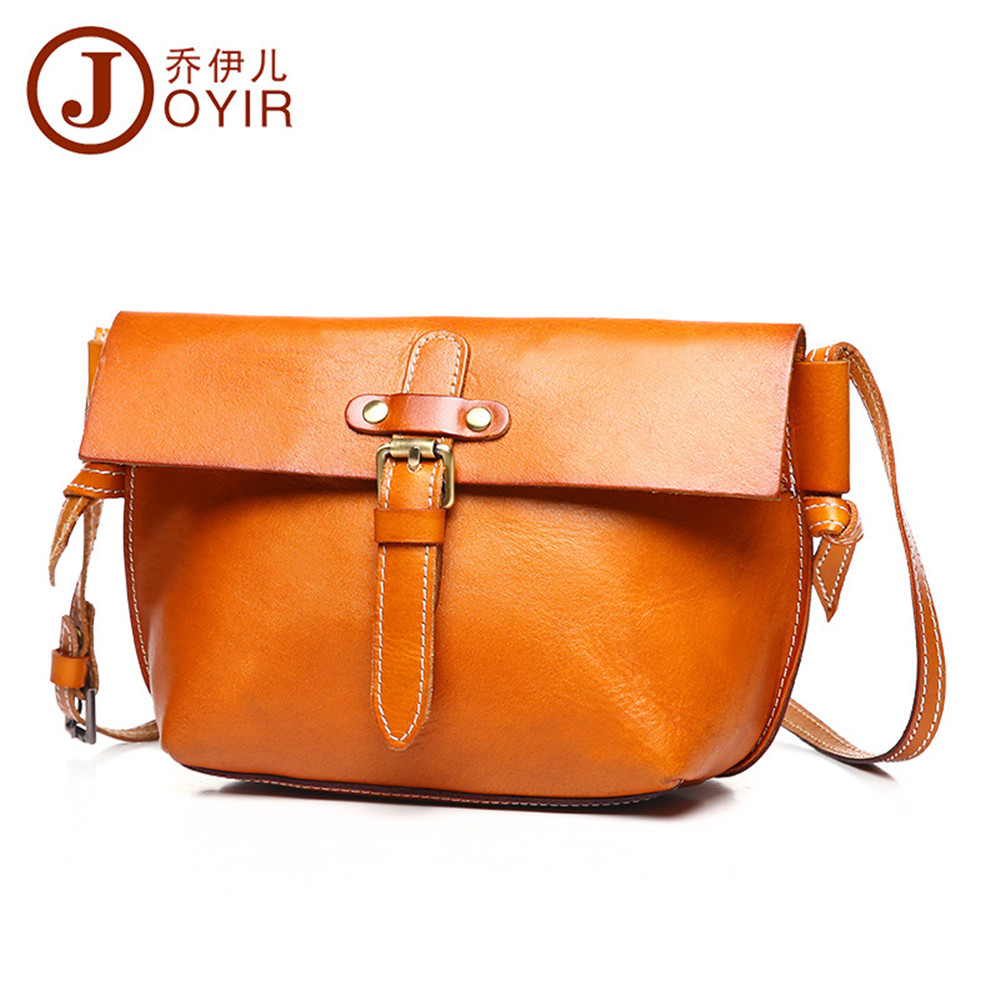 JOYIR Fashion High Quality Genuine Leather Women Small Shoulder Bag Vintage Messenger Crossbody Bag HandBag for Girl Ladies high quality crossbody bag fashion women leather handbag crossbody shoulder messenger phone coin bag dropshipping ma25