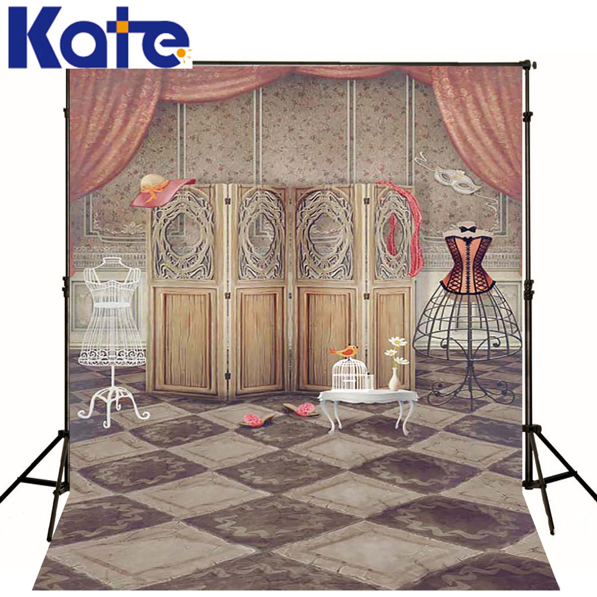 KATE Indoor Wedding Newborn Backdrop Old Room Photography Backdrops Newborn Aristocratic Dress Backgrounds For Photo Studio