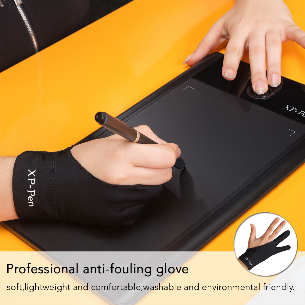 Xp Pen Anti Fouling Glove Artist For Drawing Tablet Displayvlight