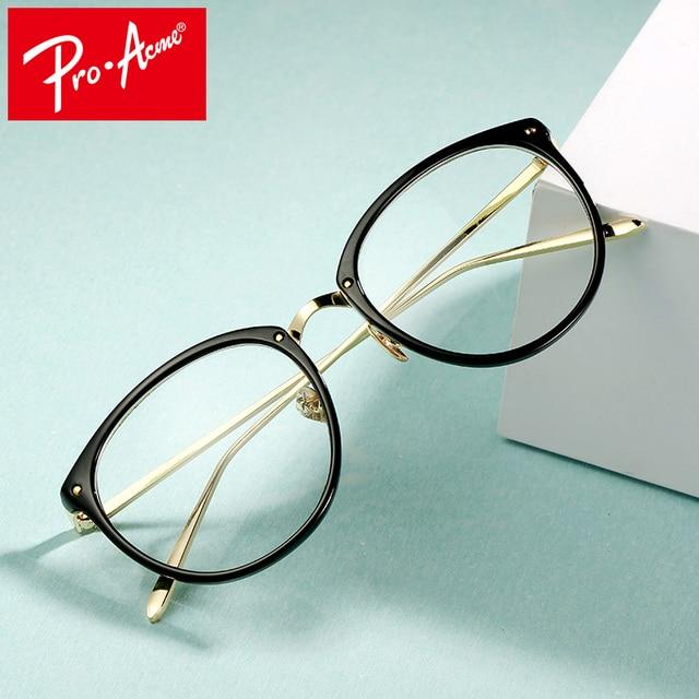 682405a11e Pro Acme Fashion Cat Eye Eyeglasses Frame Optical Clear Lens Reading Spectacles  Women Transparent Myopia Glasses