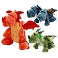 Моделирование Динозавров Фаршированные Плюшевые Игрушки, 60 см Большой Дракон Плюшевые Куклы Отвратительный Zippleback Baby Дети Кукла Подарков Бесплатная Доставка