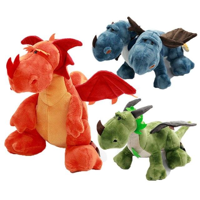 Simulation Dinosaur Stuffed Plush Toy 60cm Big Dragon Plush Doll