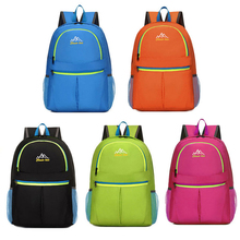 Outdoor folding bag Portable sport bag Skin pack Hiking Backpacks Ultra-light Foldable Travel Backpack for men and women
