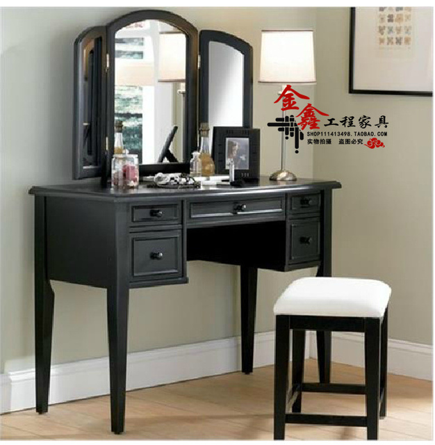Neighbor Markor Stylish Modern Wood Dresser With Mirror Makeup Small Dressing Table Cabinet Designer Furniture