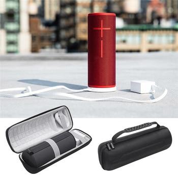 Double Zipper Carry Storage Case Bag for Ultimate Ears UE BOOM 3 Wireless Speaker Protect Shell Travel Waterproof Handbag