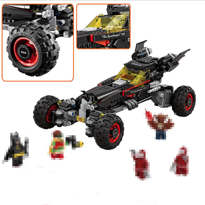 Lepin 07045 559Pcs Genuine Super hero Movie Series The Batman Robbin`s Mobile Set Building Blocks Bricks Toys Compatible 70905 2017 lepin 07045 batman movie batmobile features robin man bat kabuki building block toys compatible with legoe batman 70905