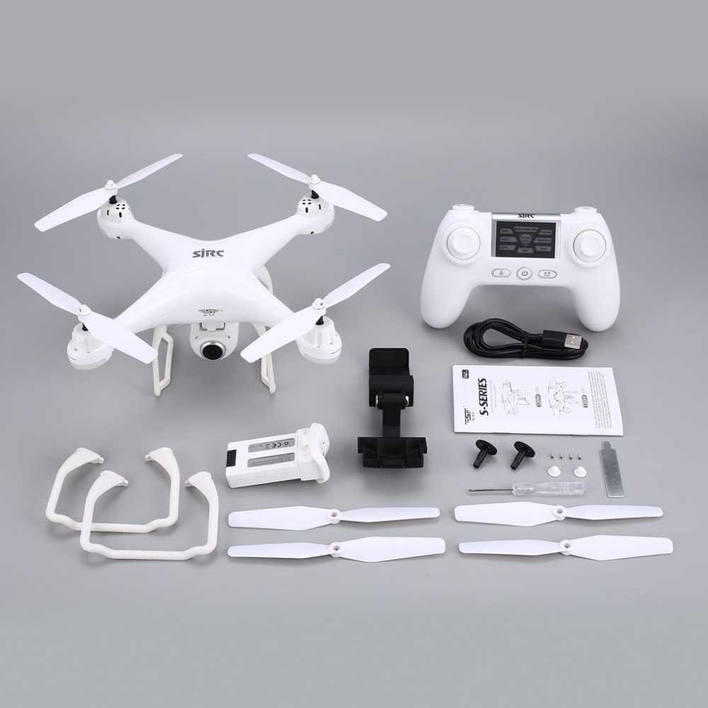 SJ R/C/S20W GPS doble FPV DRONE RC DRONE 720P 1080P Cámara autofoto DRONE que mantiene altitud modo sin cabeza, retorno automático de Hover RC Quadcopter