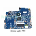 Jv50-mv m92 mb 48.4cg07.011 para acer aspire 5738 mbp5601009 placa madre del ordenador portátil mb. p5601.009 gm45 ddr2 cpu libre