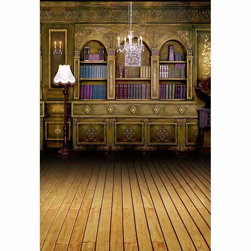 Крытый виниловая ткань ретро люстра средневековая комната фон для фотосъемки свадьбы детей фотостудия Портретные фоны