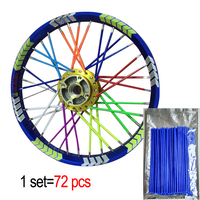 Motocross Dirt Bike Enduro Wheel RIM SPOKE Shrouds SKINS COVERS WR250 For KTM KX85 EXC450 For