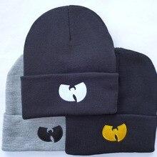 3 цвета, женская шапка с WU TANG CLAN, теплые зимние шапки для мужчин и женщин вязаная Шапочка, шерстяная шапка в стиле хип-хоп, мужская шапка, Gorros De Lana, MA23