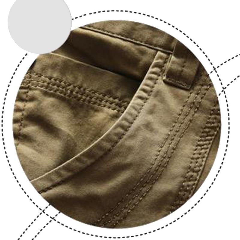 CALOFE Summer Men Running Shorts Solid Loose Baggy Shorts Military Zipper Cargo Shorts Plus Size Clothing Mens Tactical Short