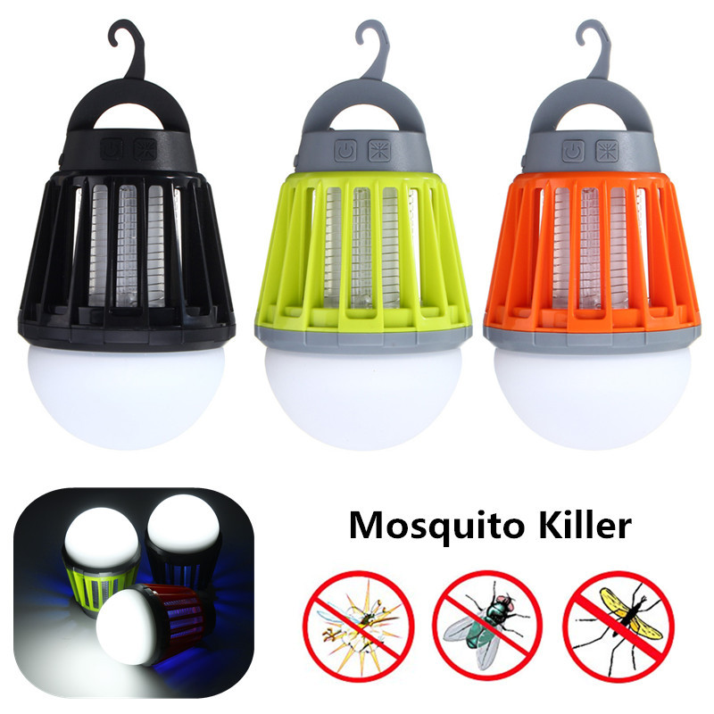 Mising Light Bulb USB Charging LED Mosquito Killer Lamp Waterproof Camping Light Portable Lantern Lamp