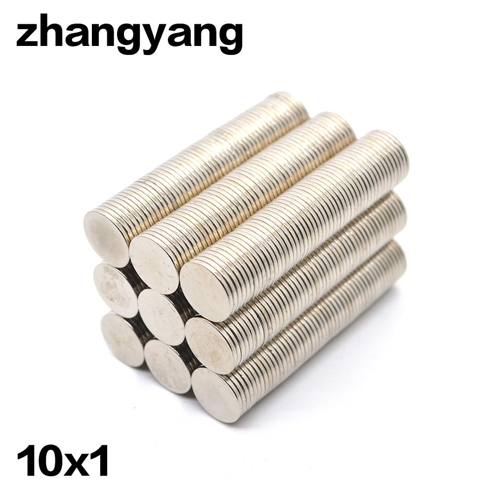 2000pcs/lot 10 mm x 1mm Magnetic Materials Neodymium Magnet Mini Small Round Disc Magnet Home Decorations Fridge 11pcs new red nylon auto car audio door dash tirm panel install