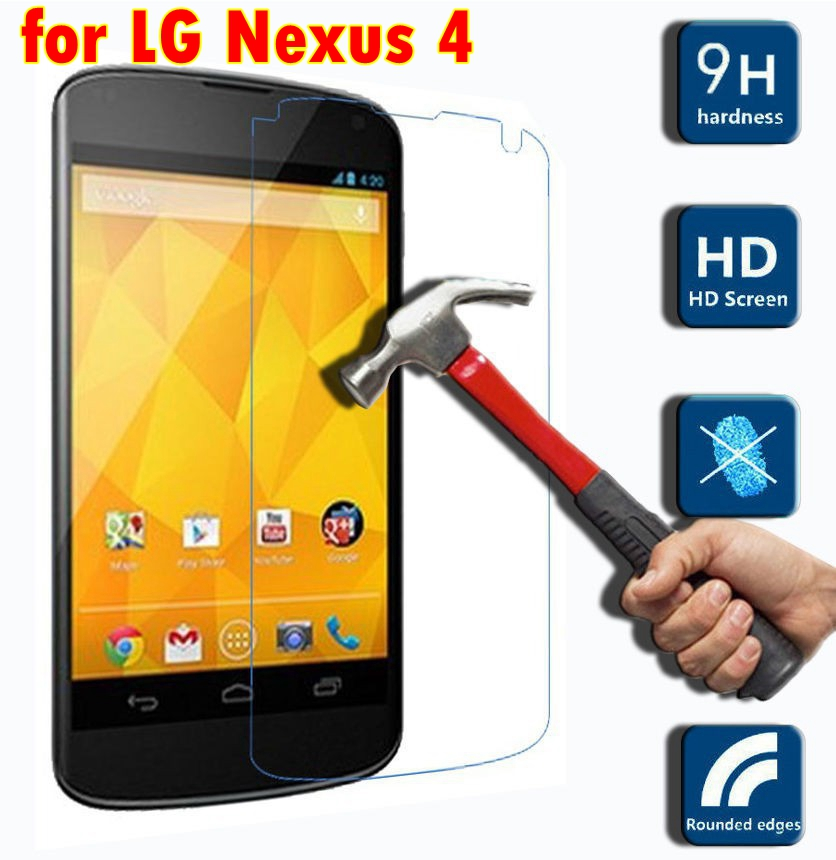 Phone Glass for LG Nexus 4 Screen Protector Mobile Accessory