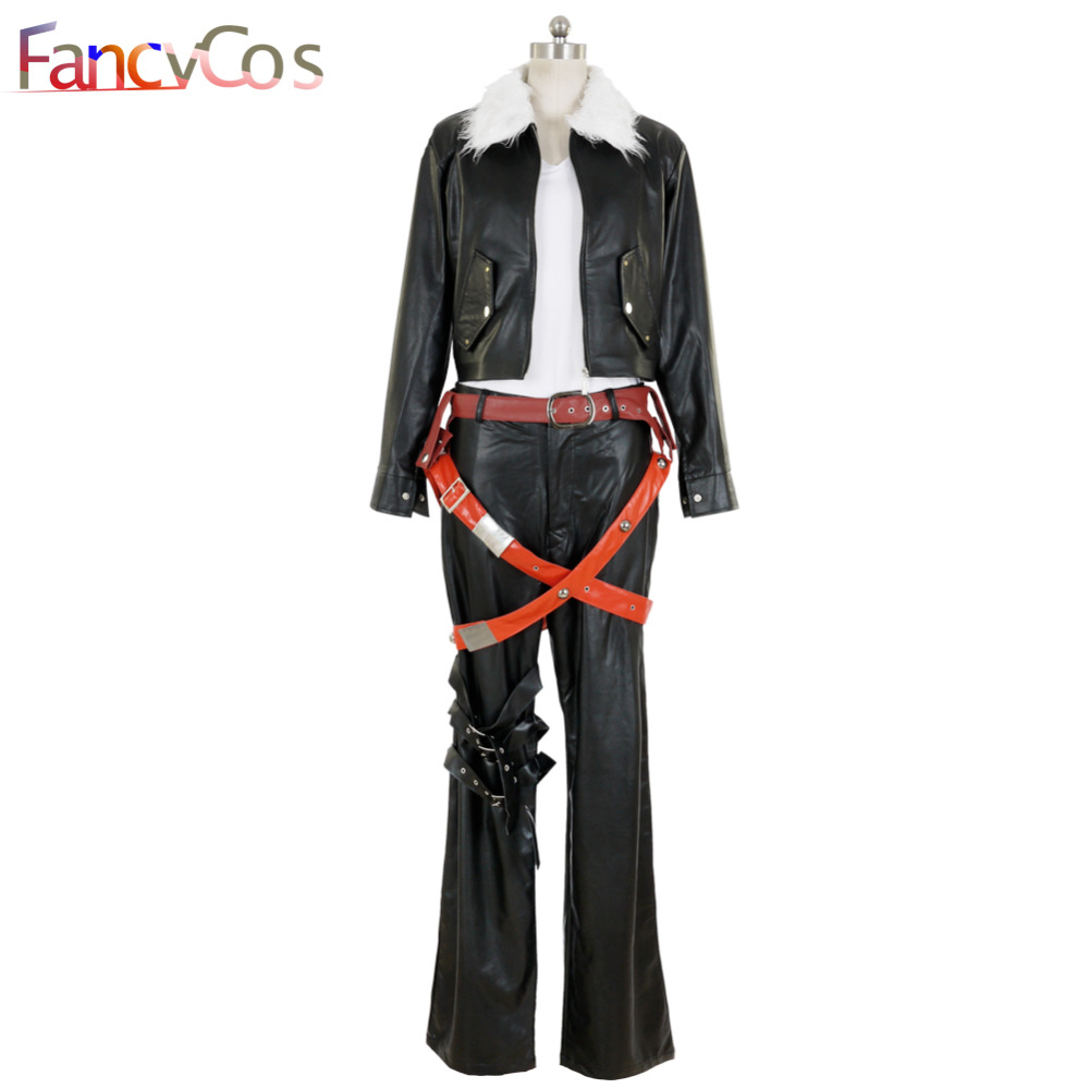 Halloween Final Fantasy VIII 8 Squall Lionheart  Movie Costume Cosplay  Anime  High Quality Deluxe