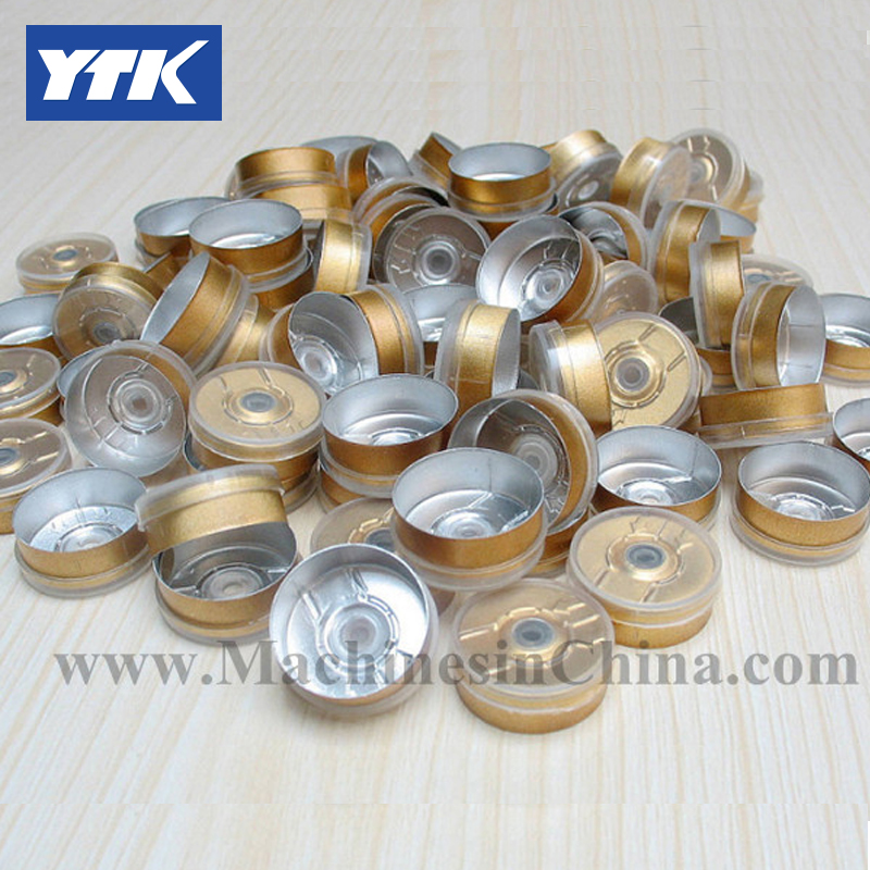 100pcs 20mm Transparent Plastic Cover