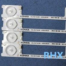 6 등, 6 v 시리즈 led, 하이라이트 렌즈 바, konka lcd tv, kdl48jt618a 일반 변경 램프 스트립, 36 v 442mm 100% new