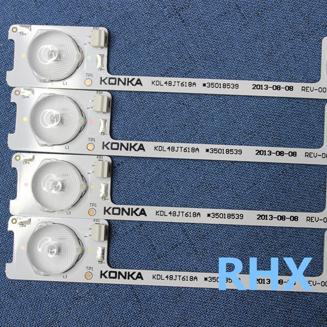 6 lights, 6V series LED, highlight lens bar, Konka LCD TV, KDL48JT618A general change lamp strip, 36V  442MM    100%NEW