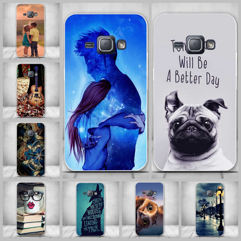 For Samsung J1 2016 Case Cover Ultra thin Soft Silicone Phone Case For Samsung Galaxy J1 (2016) SM-J120 J120F J120 Back Cover