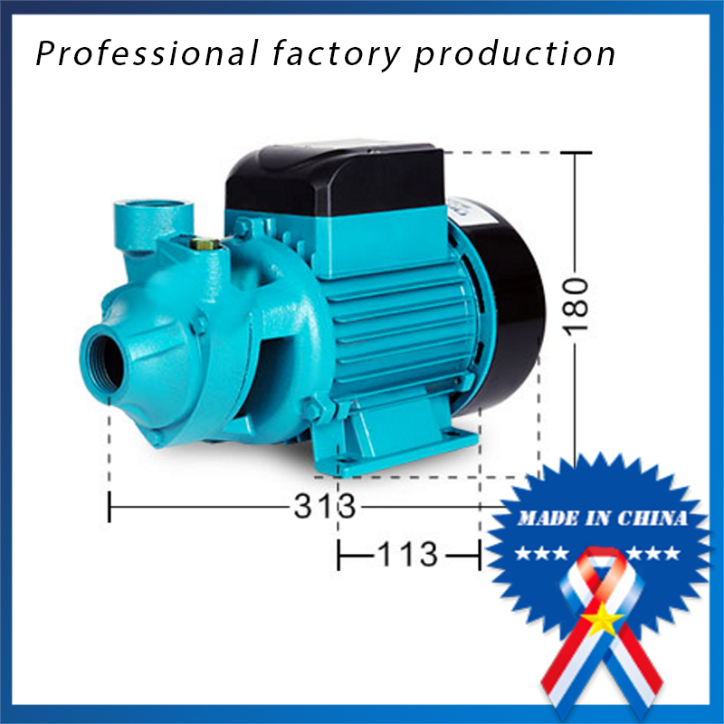 550w 0.75 hp QB70 Horizontal Electric Centrifugal Water Pump For Clean Water Low Price isw 100 100a water pump 4 inch horizontal inline pump for sale
