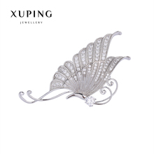 Xuping Elegant Synthetic CZ Diverse Styles Pearl Brooch for Mother's day Gift 2017 New 00086-2#