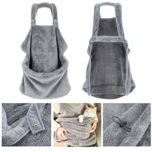 HELLOMOON New fashion Khaki velvet soft and skin-friendly cat pet bag casual sleeping accompany skirt backpack