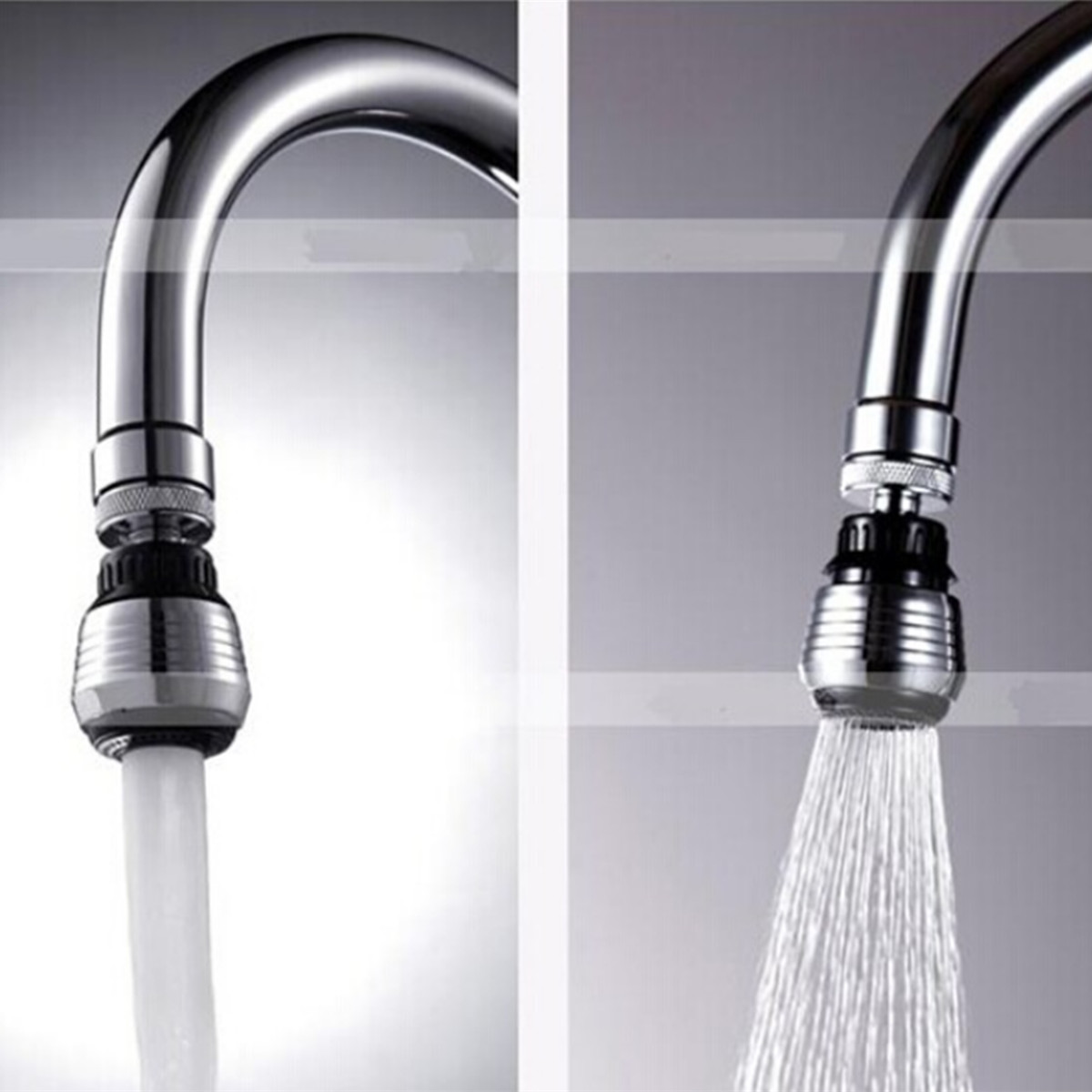 Water Saving Swivel Kitchen Bathroom Faucet Tap Adapter Aerator ...