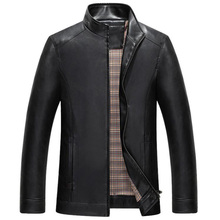 Topselling Men's Suit Leather Jacket and Coats Formal Mens Sheepskin Leather Jacket Brand Designer Russian Leather Jackets C293