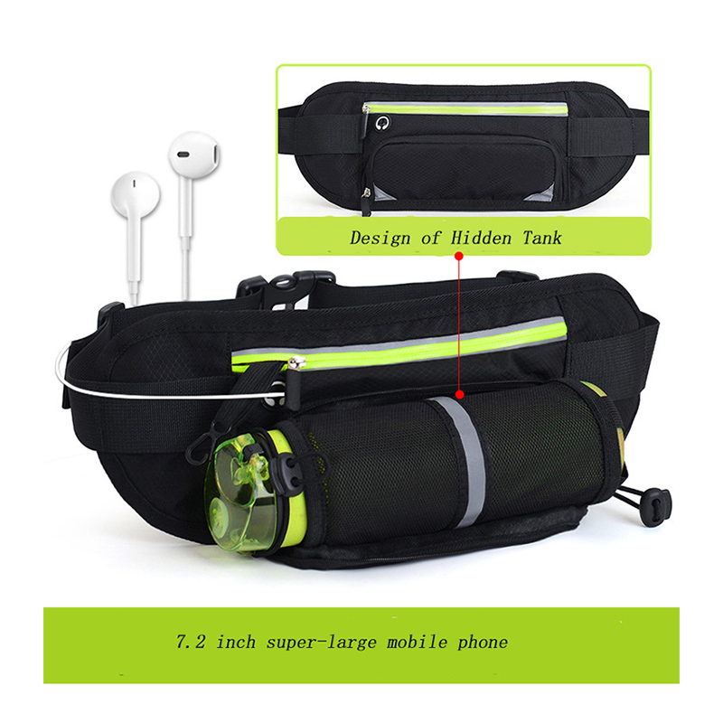 Sports  Running Waist Bag Pocket Jogging Portable Waterproof Cycling Bum Bag Outdoor Phone Anti-theft Pack Belt Bags
