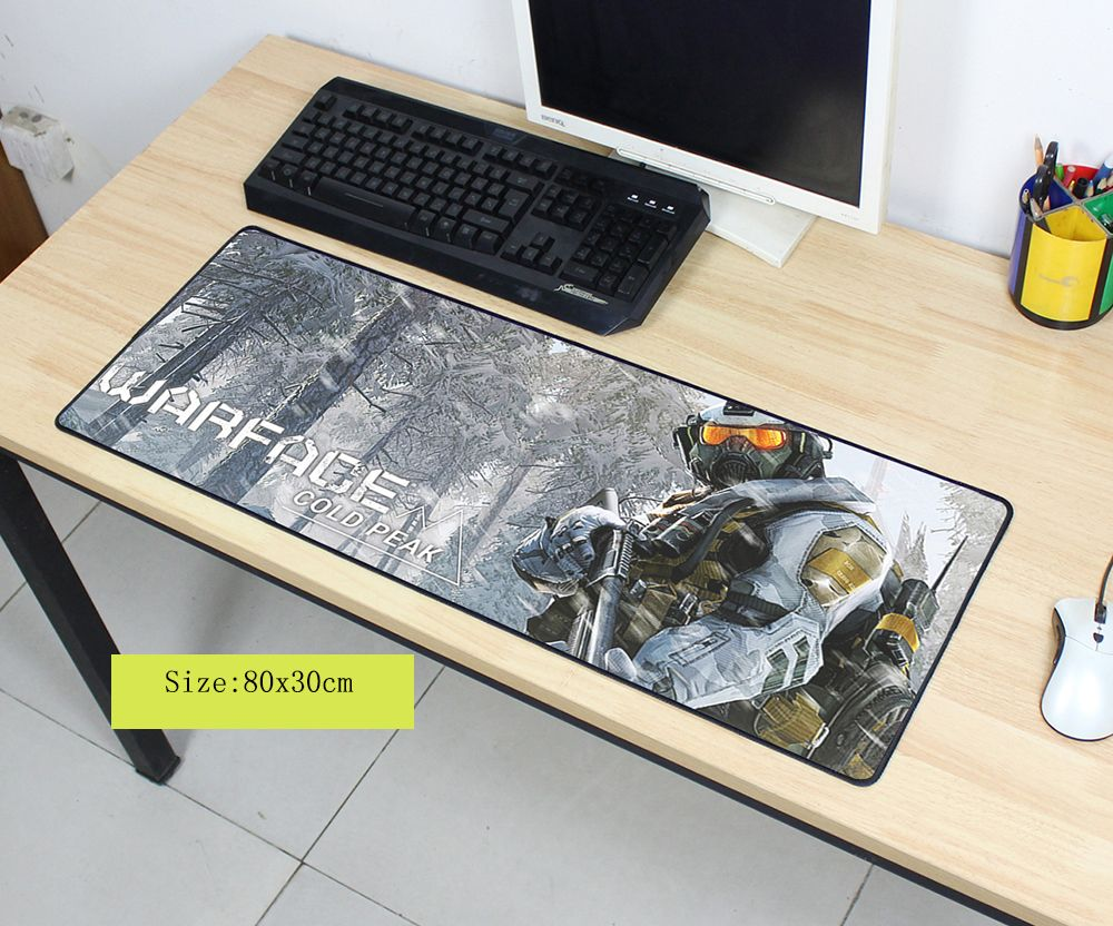 warface mouse pad 80x30cm pad to mouse notbook computer mousepad High quality gaming padmouse gamer to laptop large mouse mats large small size pubg gaming mouse pad pc computer gamer mousepad keyboard wireless mouse mats lock edge notebook laptop mats