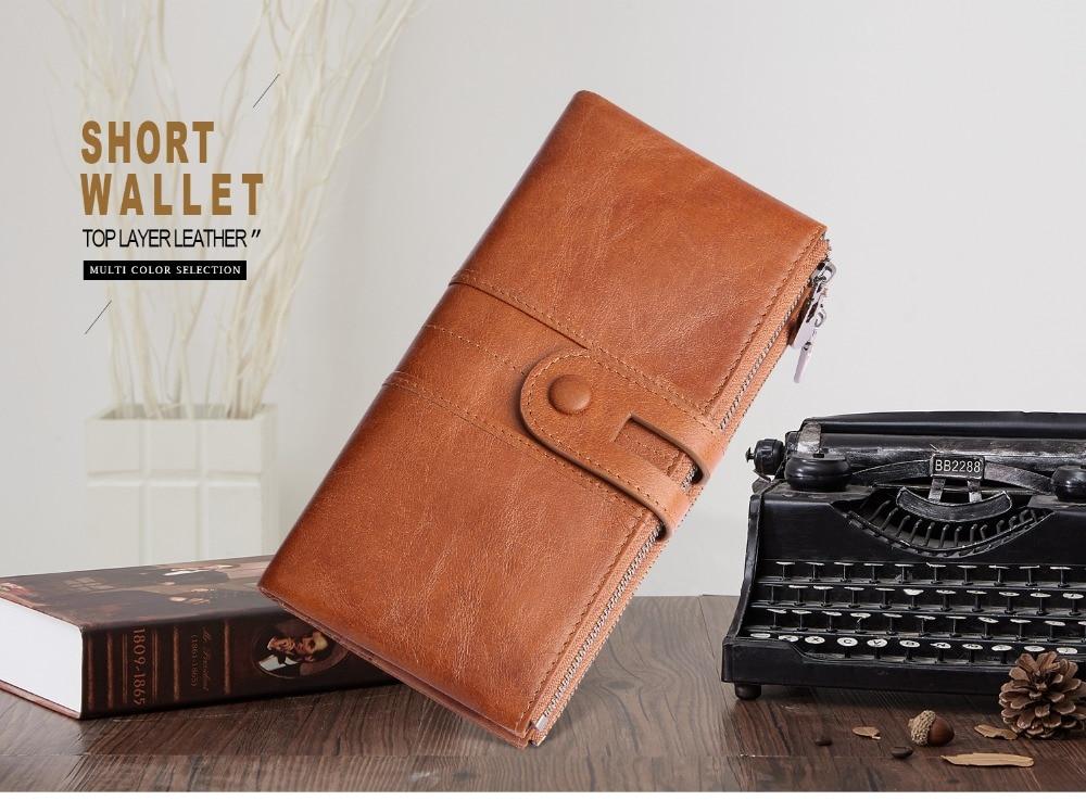 2072--Genuine Leather long Women Wallet-Casual Clutch Wallets_01 (1)