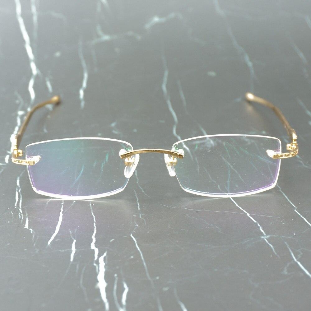Panther lunettes cadre Carter lunettes de soleil pour femmes et hommes sans monture lunettes pour lire luxe décoration Gafas 0146 - 3