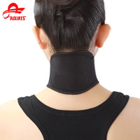 Free Shipping Self Heating Tourmaline Neck Magnetic Therapy Support Tourmaline Belt Wrap Brace Pain Relief Neck