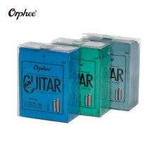 จัดส่งฟรี 10 pcs กีตาร์โปร่ง Orphee Strings RX15 RX17 RX19 สายกีตาร์ไฟฟ้า SUPER LIGHT