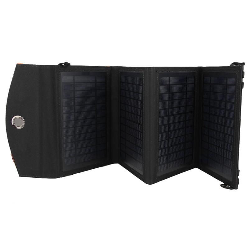 Portable foldable solar panel