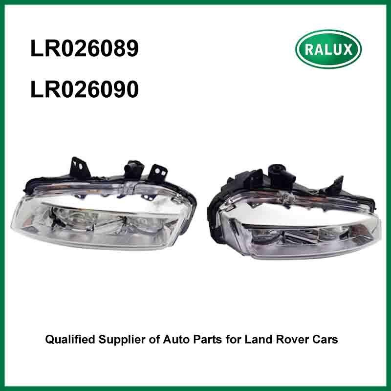 Nuovo anteriore destro e sinistro Car Lampada Della Nebbia per Range Rover Evoque 2012-lampada auto della nebbia fornitore con l'alta qualità LR026089 LR026090
