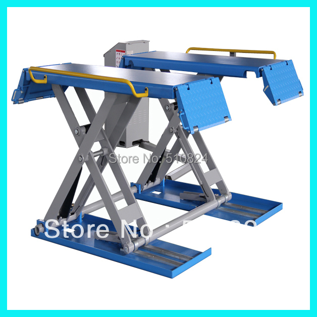 Promption Sales Low Ceiling Mid Rise Scissor Car Lift