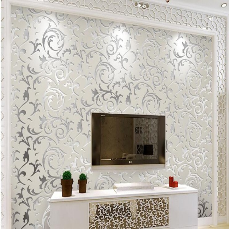 Beibehang high quality wallpaper papel de parede 3d for Luxury 3d wallpaper
