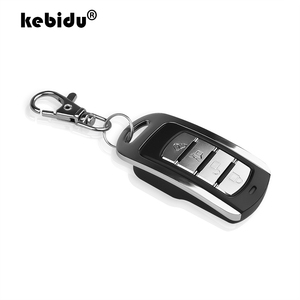 ABCD Wireless RF Remote Control 433 MHz 433.92mhz Electric Gate Garage Door Remote Control KeyChain Controller with Battery