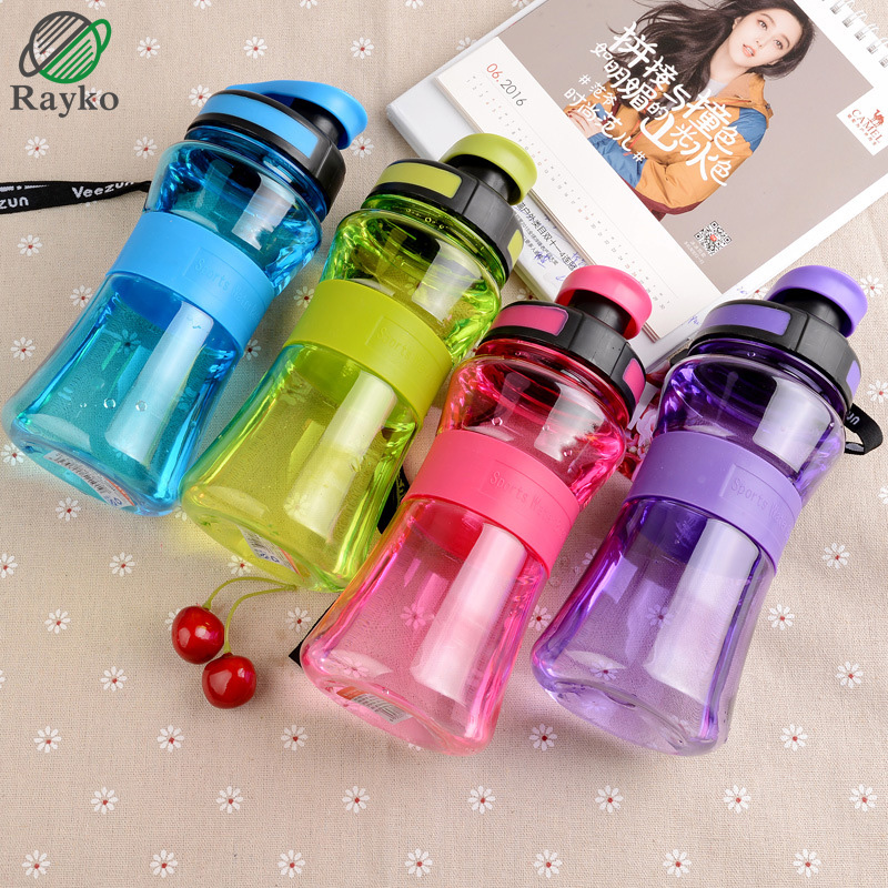700ML Portable Water Bottles Plastic Big Large Capacity Gym Watter Bottle For Sport Outdoor Bicycle Bike Camping Cycling Kettle ...